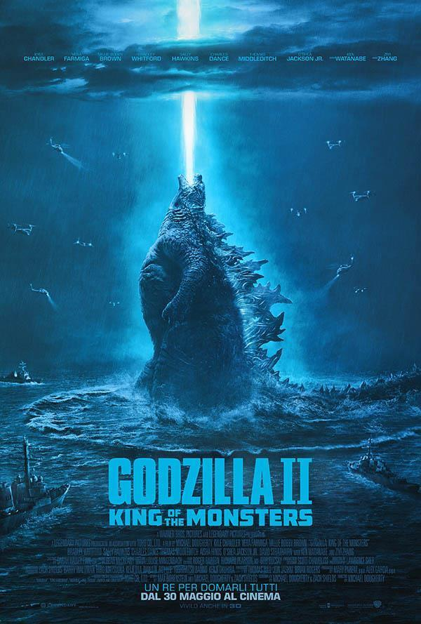 cattura di Godzilla II: King of the Monsters 2019