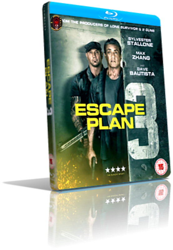 cattura di Escape Plan 3 L Ultima Sfida 2019 Blu Ray